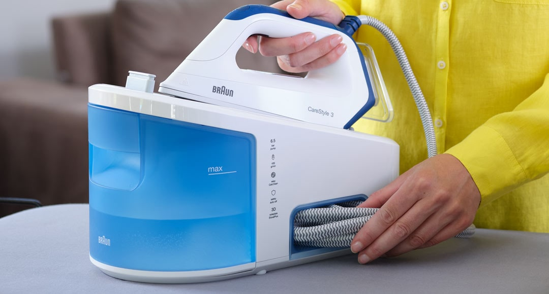 Braun CareStyle 3 with easy cord storage