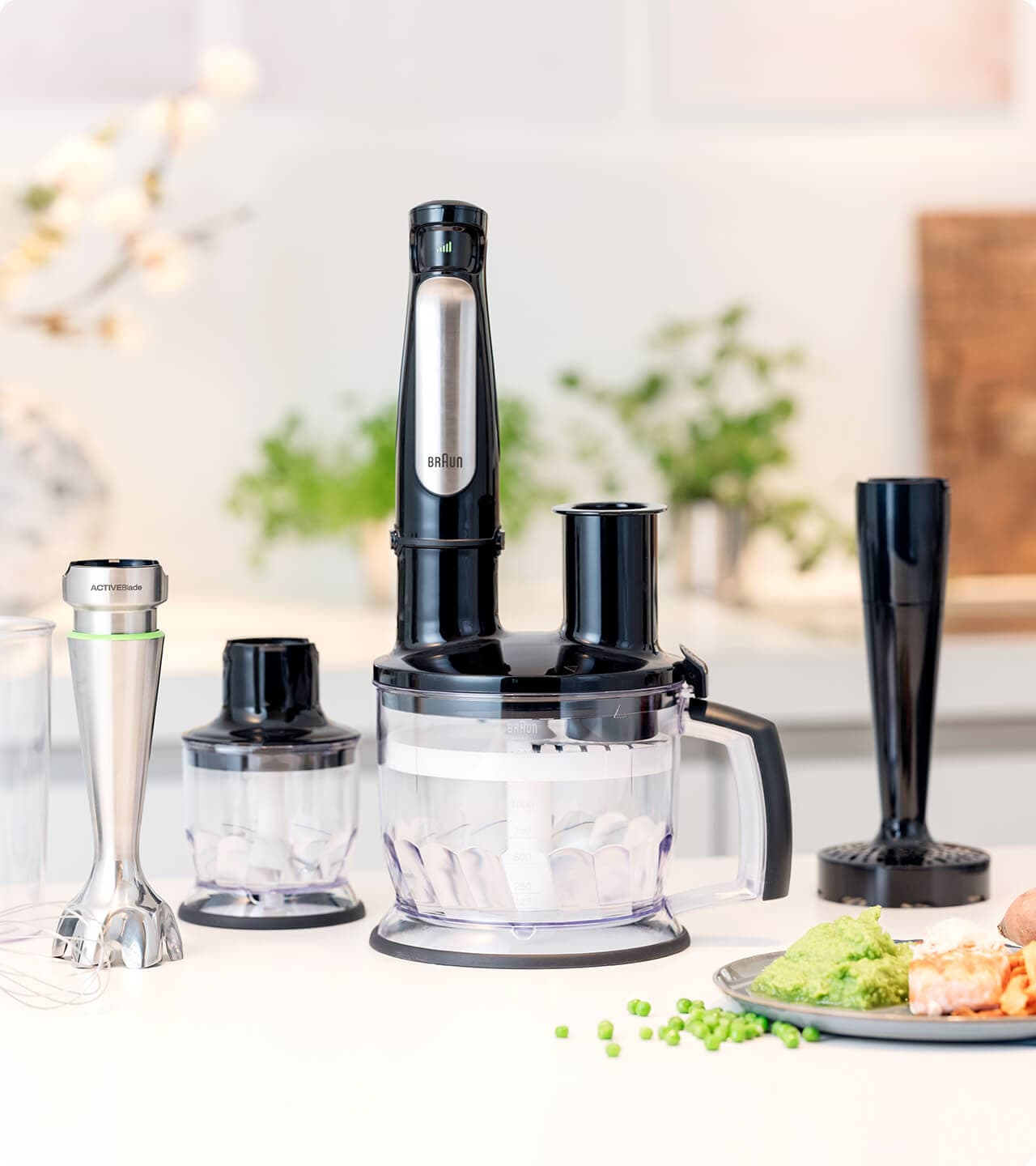Braun Multiquick hand blenders  – maximum versatility