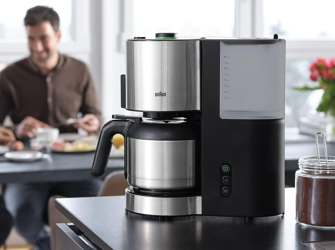 Braun ID Breakfast Collection Coffee Maker with OptiBrew System