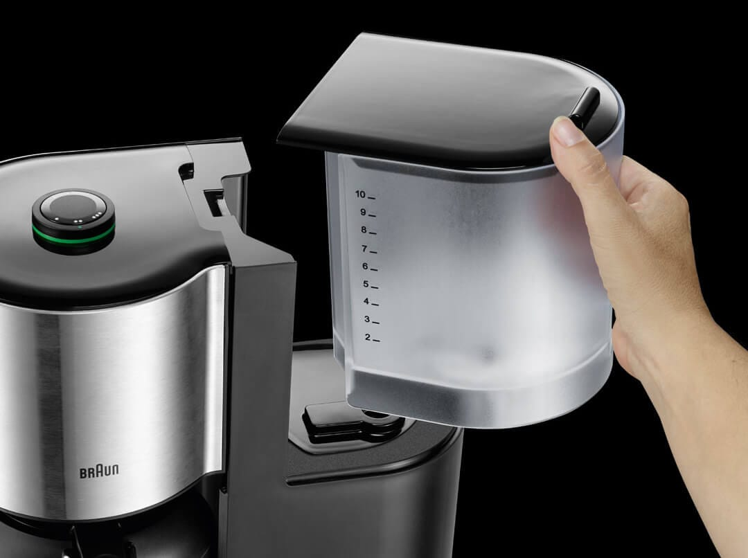 Braun ID Breakfast Collection Coffee Maker with double-filling system