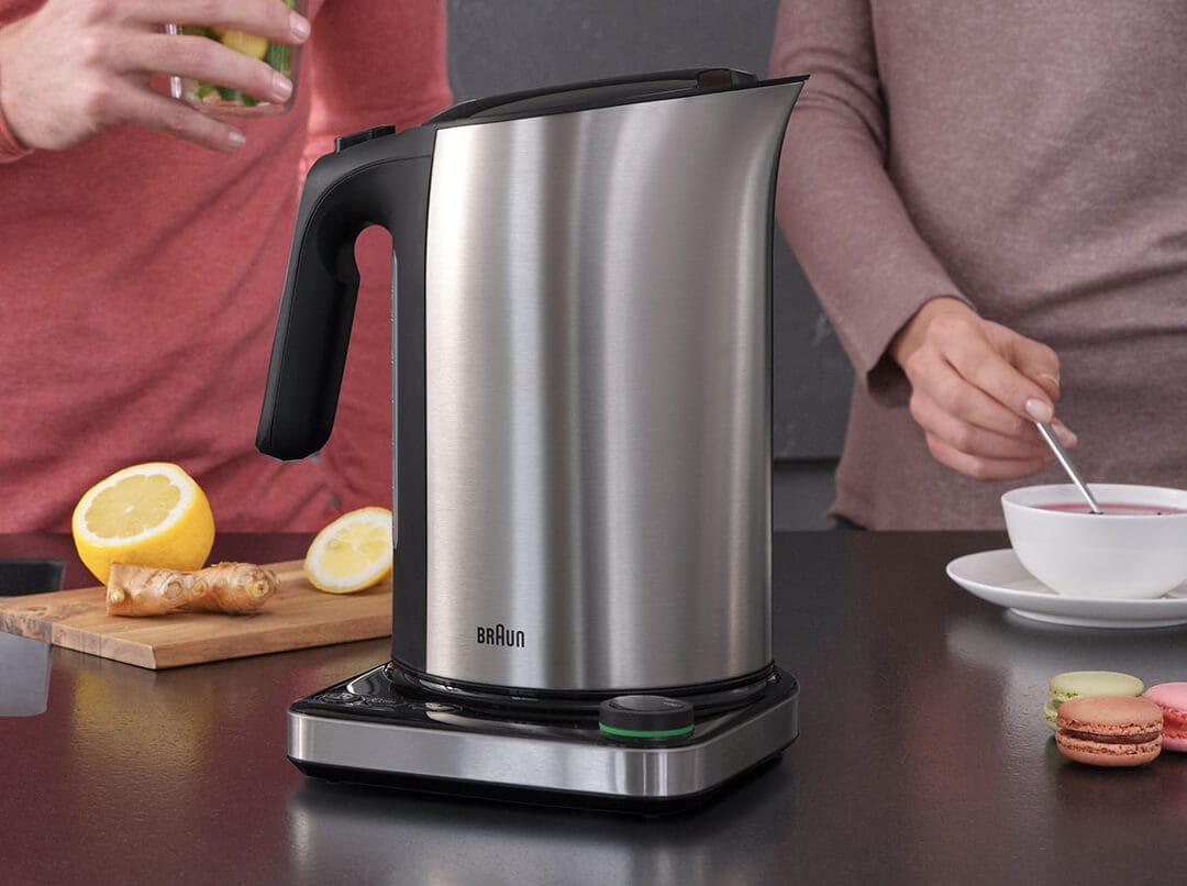 Braun ID Breakfast Collection Kettle with fast boiling system