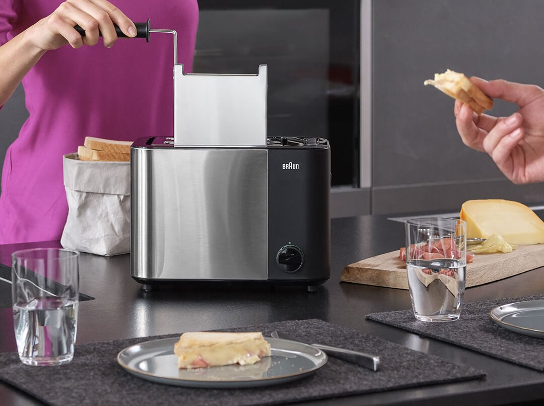 Braun ID Breakfast Collection Toaster with anti-leakage sandwich cage