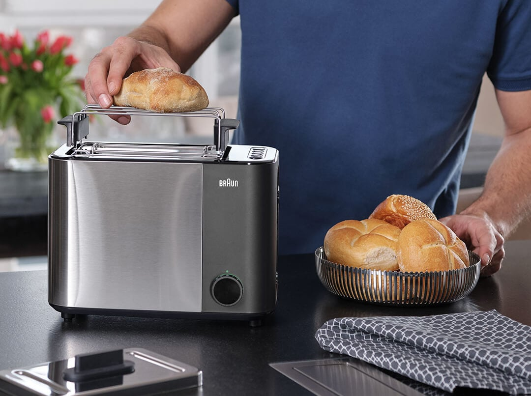 Braun ID Breakfast Collection Toaster with bun warmer attachment