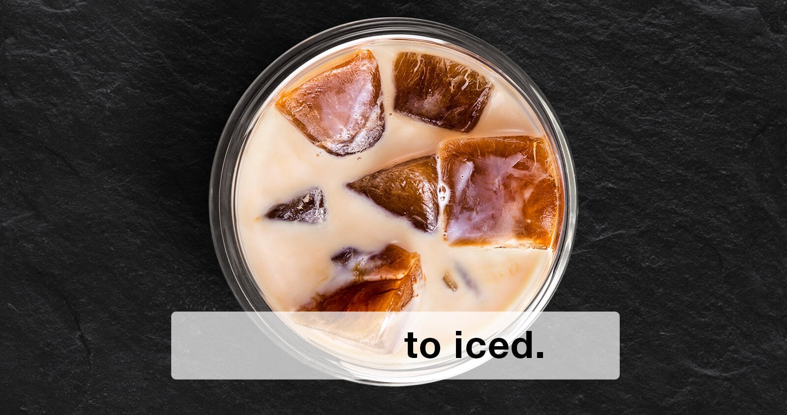 Iced Coffee made by Braun MultiServe Coffee machine