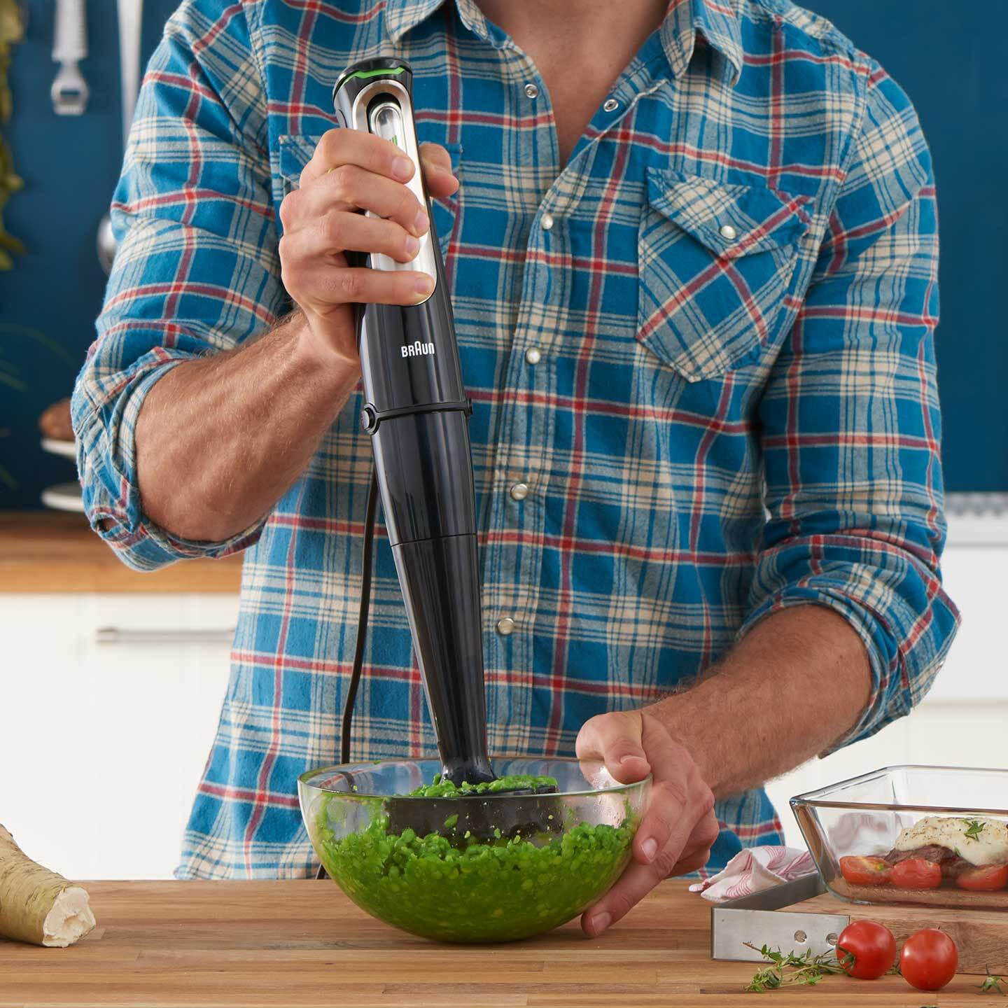 Braun MultiQuick 9X Hand blender with Masher attachment
