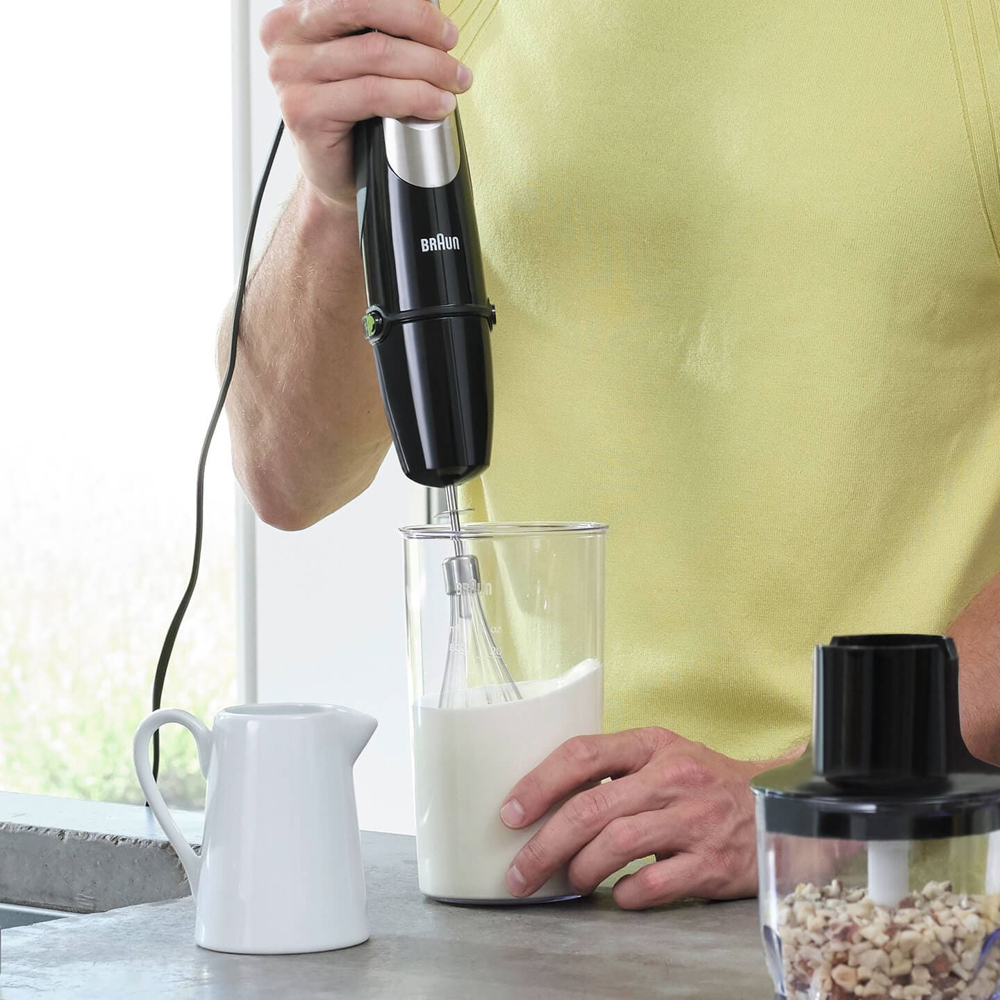 Braun MultiQuick 9X Hand blender with whisk attachment