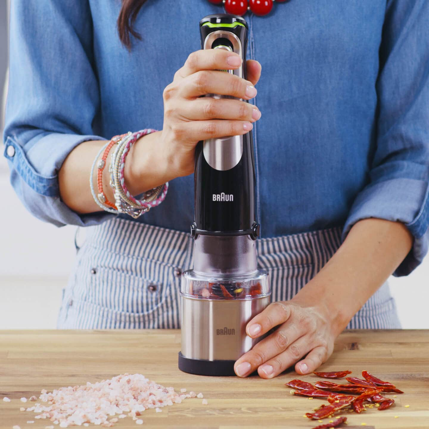 Braun MultiQuick 7 Hand blender Coffee and spice grinder accessory