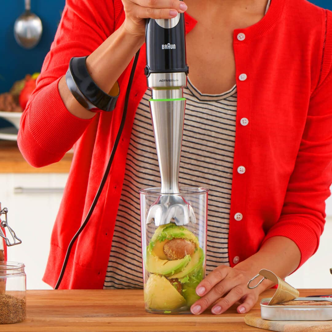 Braun MultiQuick 9 hand blender for hard jobs