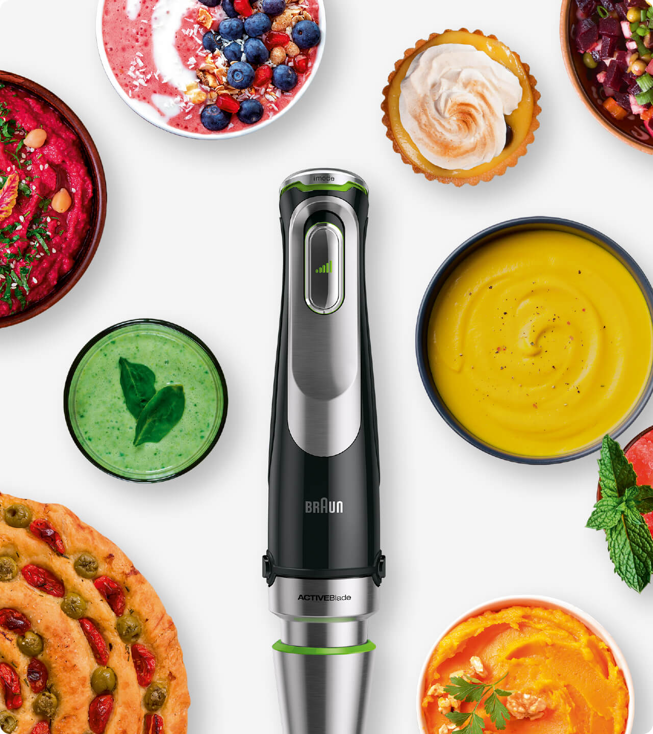 Braun MultiQuick 9X Hand blender pushes the boundaries of your culinary skills.