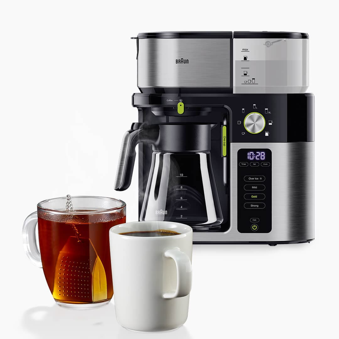 Braun MultiServe Coffee machine with hot Water Dispenser