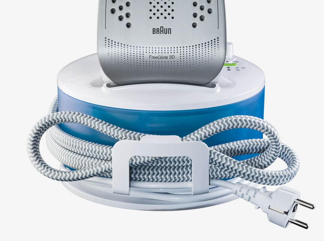 Braun CareStyle Compact with convenient and smart cord storage