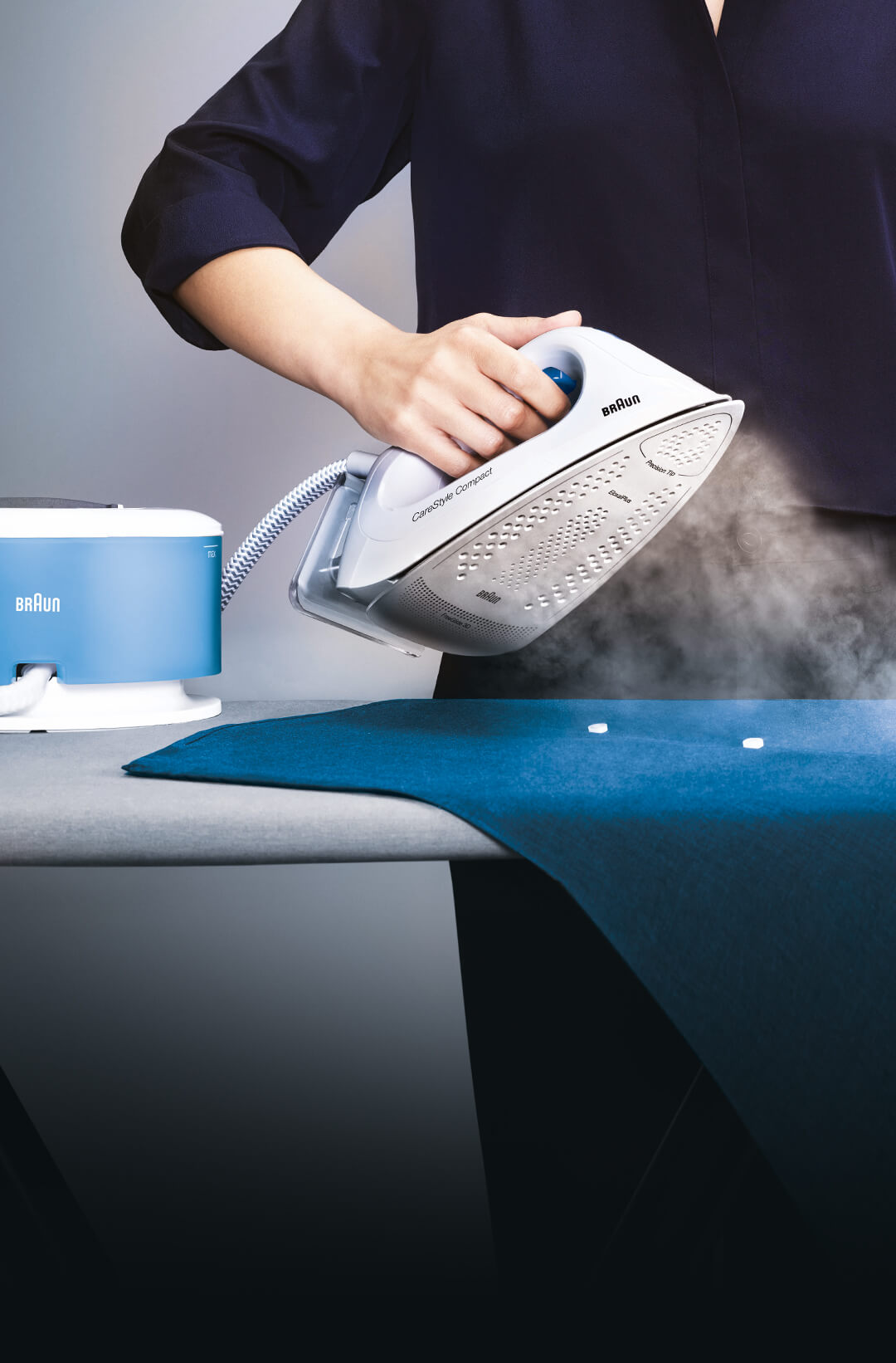 Braun CareStyle Compact steam generator iron