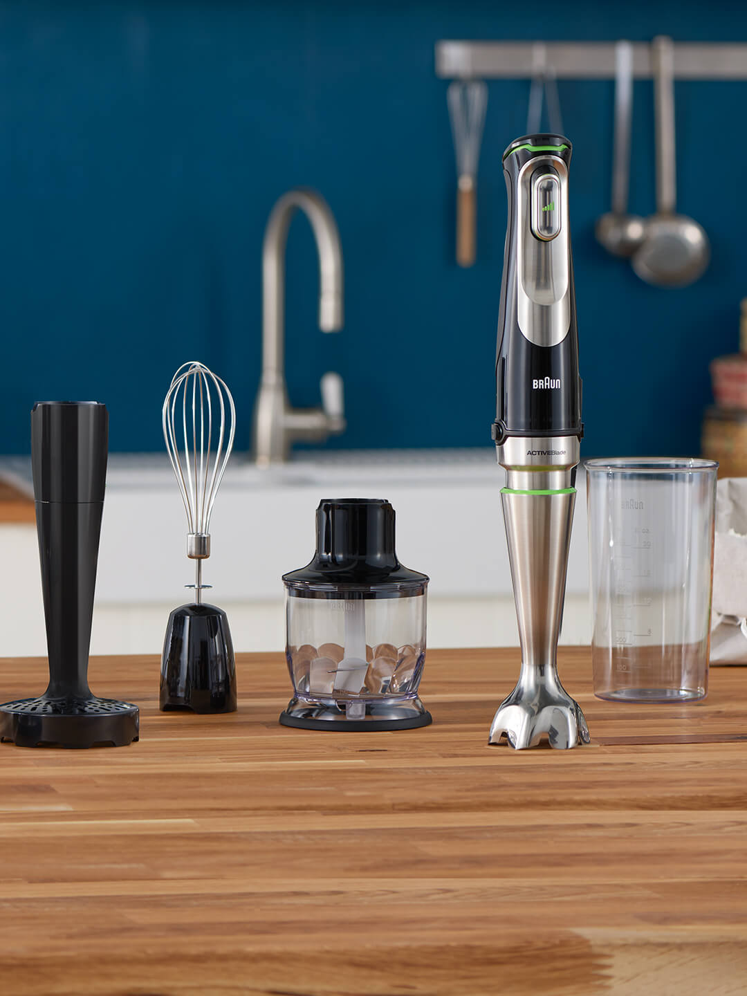 Braun MQ 9 Hand blender with attachments