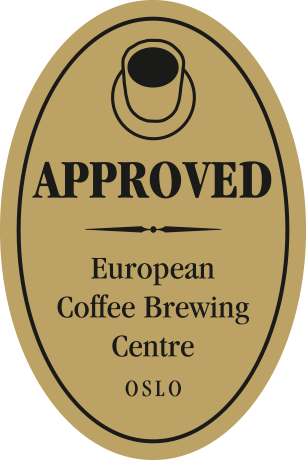 Aproved by European Coffee Brewing Center