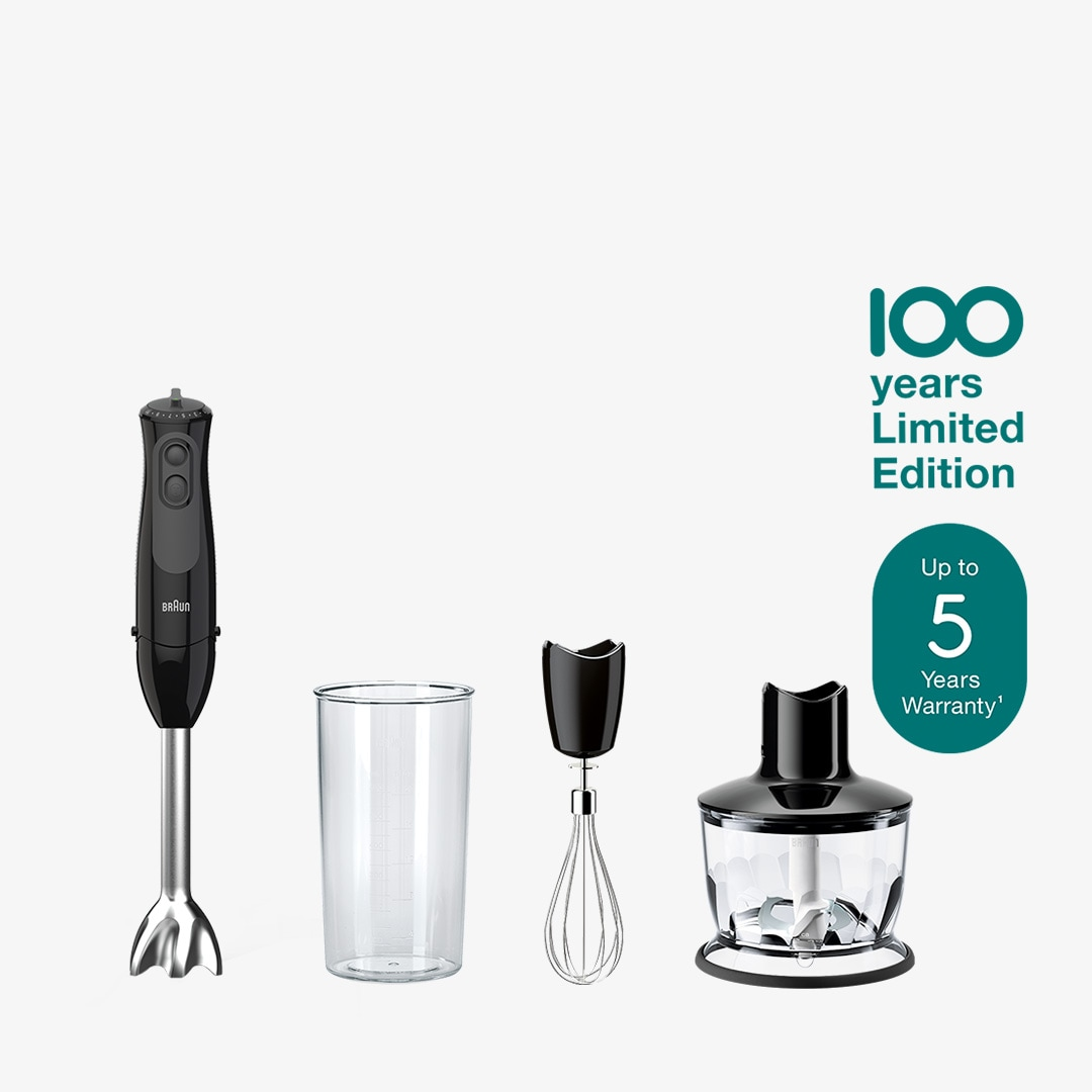 MultiQuick 3 - Braun 100 years Limited Edition