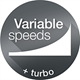 Seamless variable speed