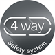 4-way safety system