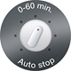 Easy-timer with auto-stop
