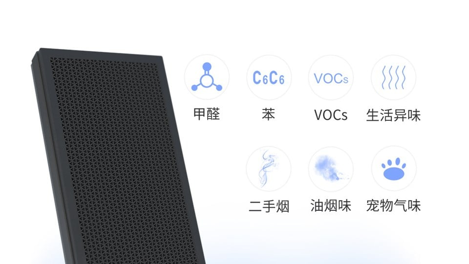 Braun Air Purifier VOC Technology