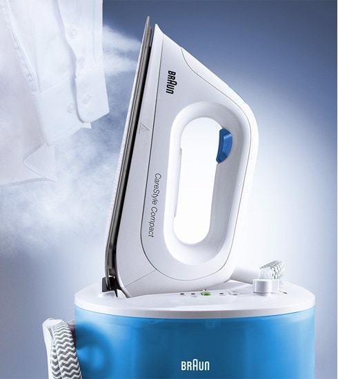Braun CareStyle Compact width high steam performance