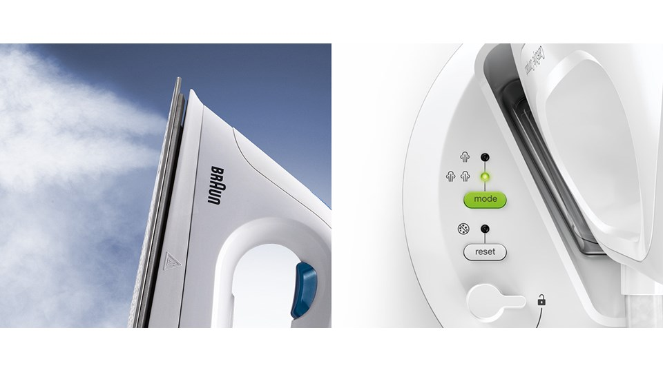 Braun CareStyle Compact - Double Steam Function
