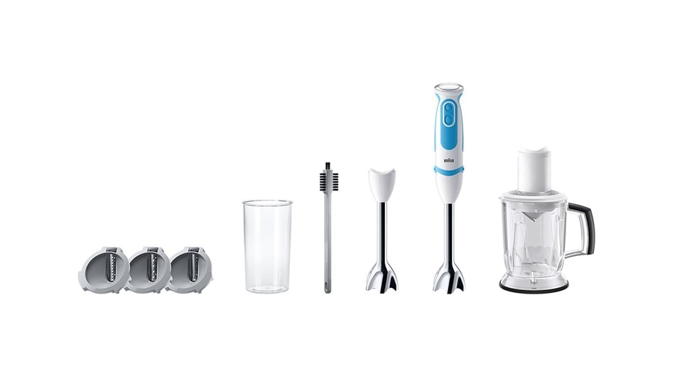 Braun MultiQuick 5 Vario Fit - with all its attachments