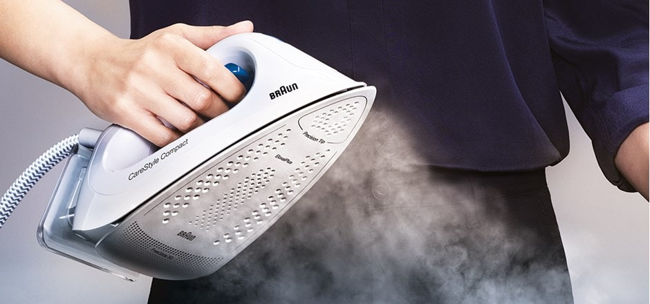 Braun CareStyle Compact - Award winning steam generator iron