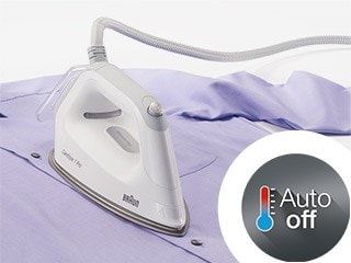 Braun garment care - Auto-off safety