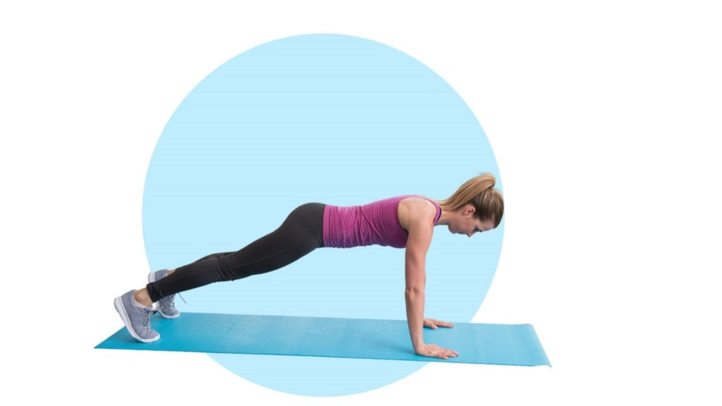 Fitness exercise - Push ups