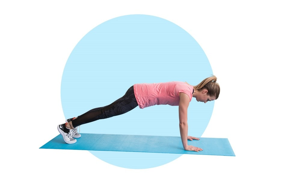 Fitness exercise - Mountain climbers