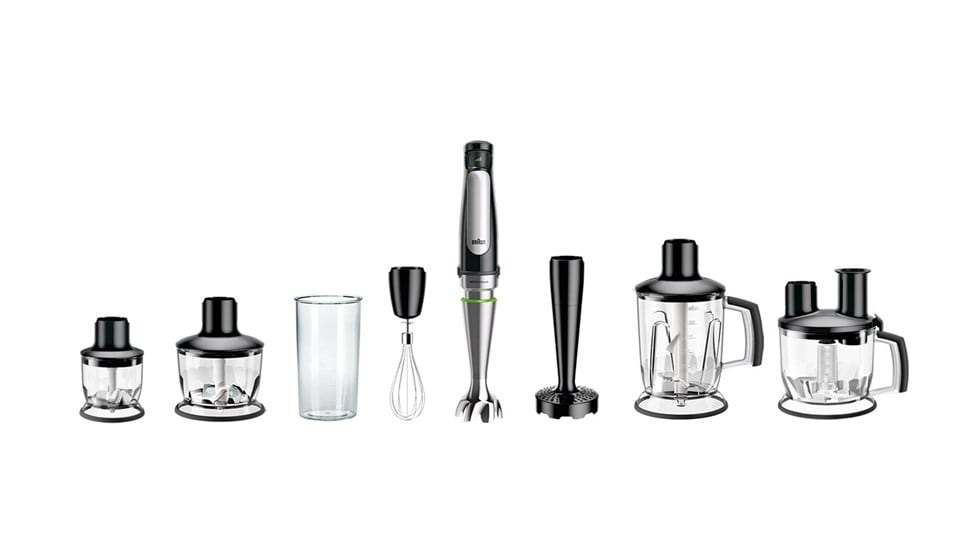 Braun MultiQuick 7X Hand blender - attachments overview