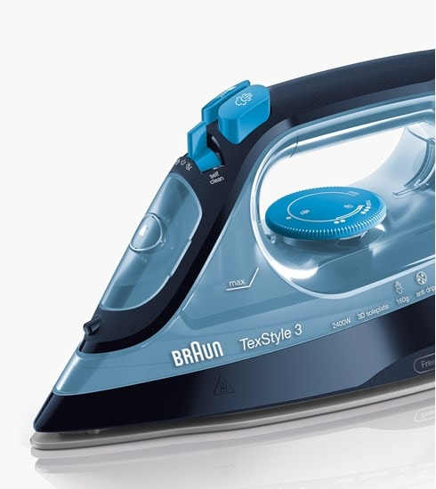 Braun TexStyle 3 steam iron - designed in Germany