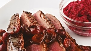 Spiced duck breast (Marc Fosh)