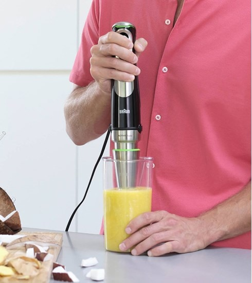 Braun MultiQuick 9X Hand blender with stainless steel blending shaft