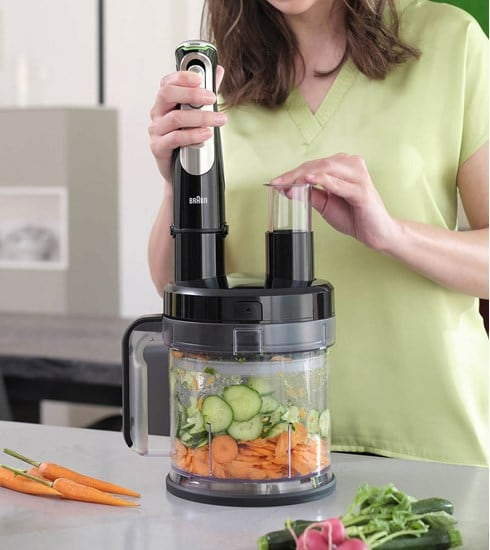 Braun MultiQuick 9X Hand blender with food processor attachment